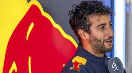 Australian Formula 1 driver Daniel Ricciardo of Red Bull Racing.