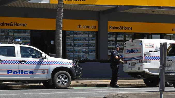 Police arrested a juvenile in the Mackay CBD.