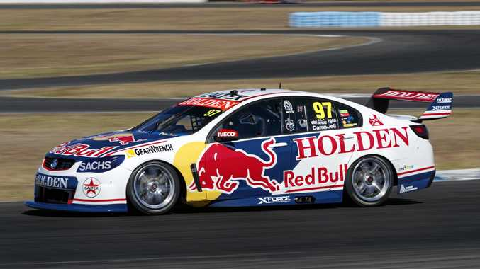 SANDOWN WEEKEND: Warwick driver Matt Campbell in action for the Red Bull Holden Racing team.
