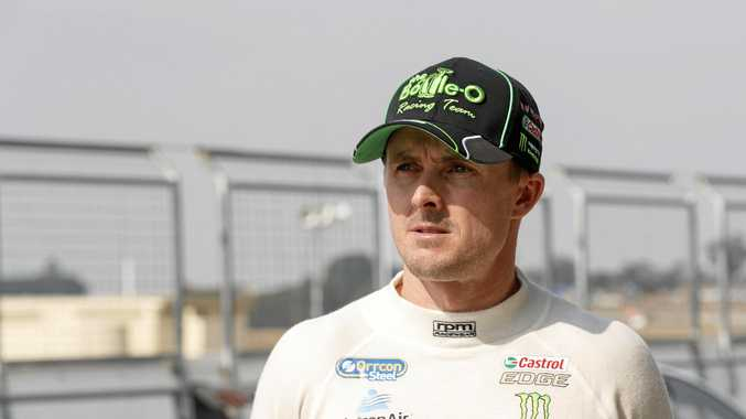 Mark Winterbottom of Prodrive Racing Australia.