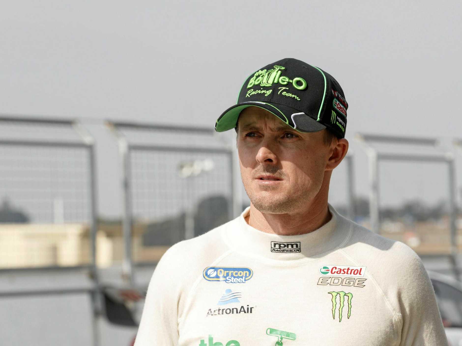 Mark Winterbottom of Prodrive Racing Australia.
