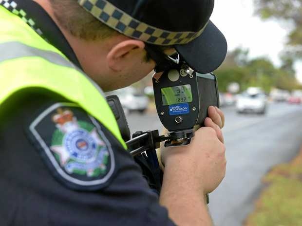 On February 15, Aaron James Turner, 33, was clocked by police doing 62kmh in the 50kmh zone of Goonawarra Dr, Mooloolaba.