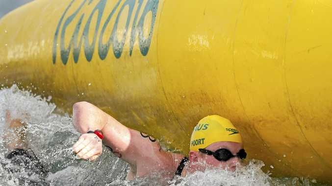 AT RIO:  Jarrod Poort during the Olympics.