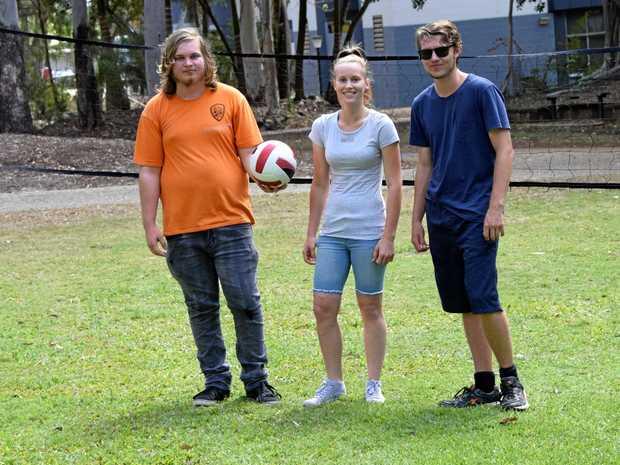 Jorden Slingo, Kayla Reynolds, Jacob Schafer