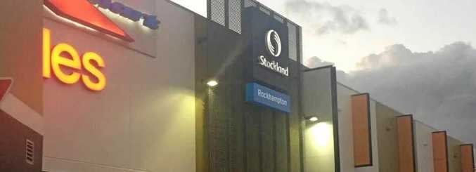 The alleged assault happened around noon at Stockland Rockhampton.