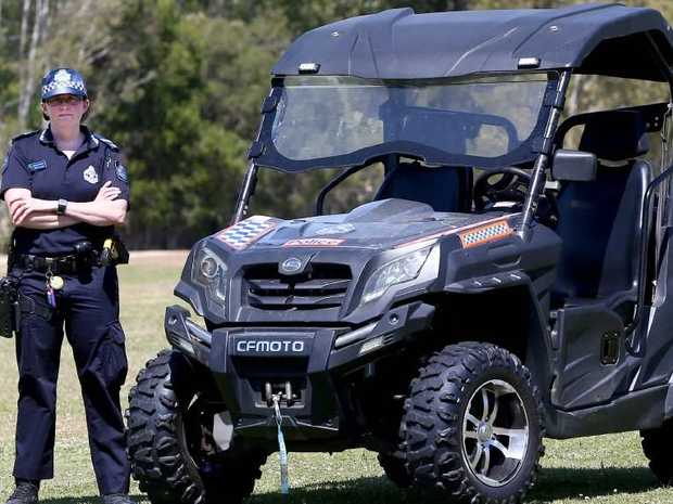 Senior Constable Kristyn Smith is part of the crackdown cops. Picture Mike Batterham