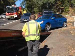 Multiple vehicle crash on Bruxney Highway