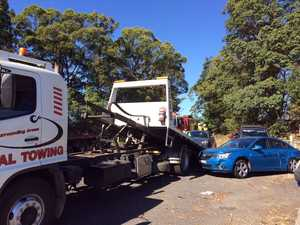 Five car crash at Goonellabah