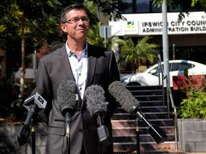 Ipswich Mayor addresses media about CEO