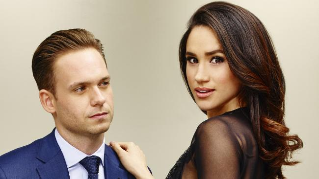 Patrick J Adams plays Michael Ross alongside Meghan Markle's Rachel Zane in Suits.