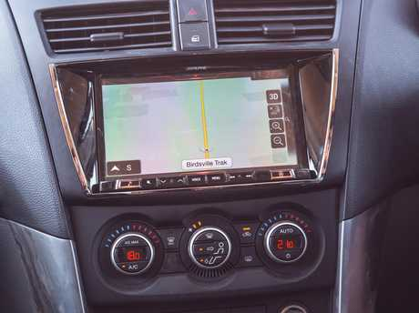 Mazda is also trumpeting the GT's trick standard satnav showing overhead and 3D views on the 7.8-inch touchscreen, a collaboration with electronics outfit Alpine.