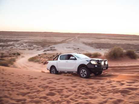 The Mazda BT-50 trip to Birdsville.
