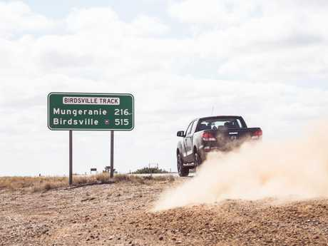 It was Birdsville or bust.