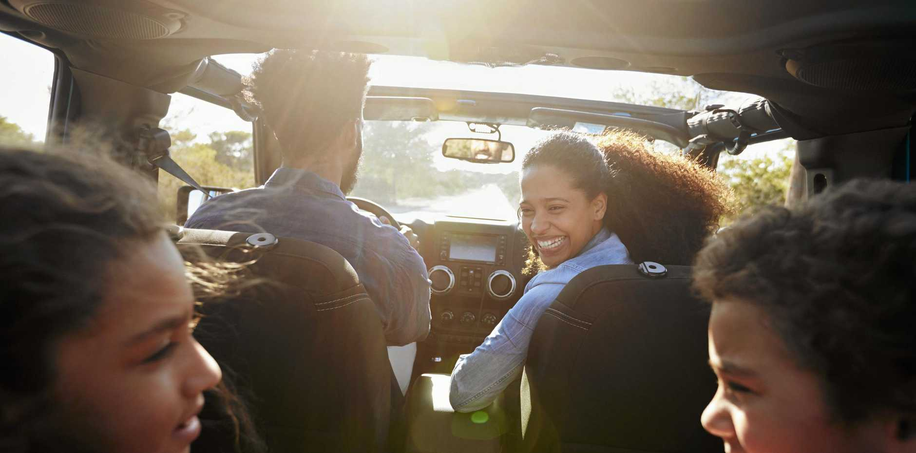 Pull out a few old-fashioned road trip games for the school holidays and watch the kids squirm without their devices.