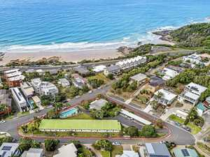 Beachside development site