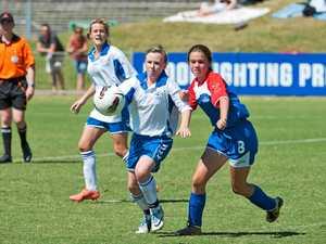 Region's best female junior soccer players on show