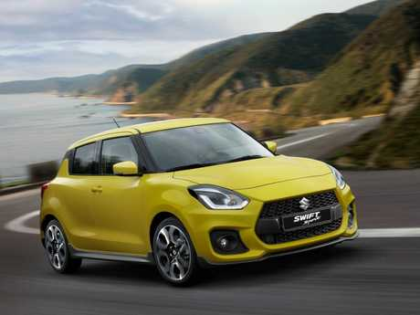 The 2018 Suzuki Swift Sport.