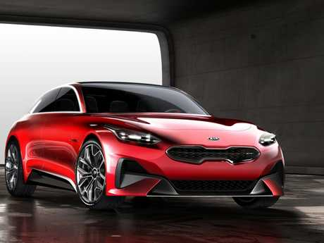 The Kia Proceed GT Concept.