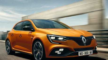 The 2018 Renault Megane RS.