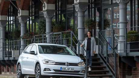Coming next year, the 2018 Volkswagen Polo.
