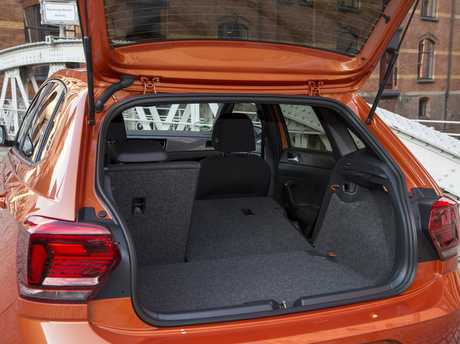The boot of the next generation VW Polo.