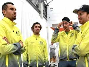 Hewitt chooses Millman over Kokkinakis for Davis Cup