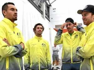 Hewitt chooses Millman over Kokkinakis for Davis Cup