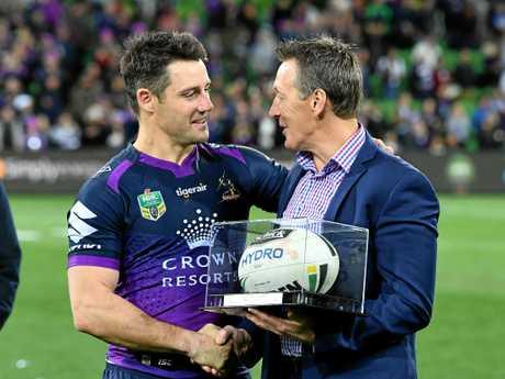 Cooper Cronk and Craig Bellamy.