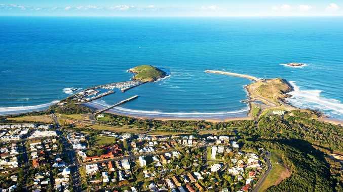 Coffs Harbour marina.