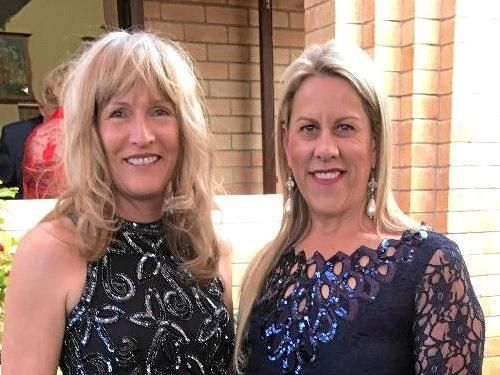 Janelle Tennant and Gympie-Cooloola Rotary Club president Karen Brus.