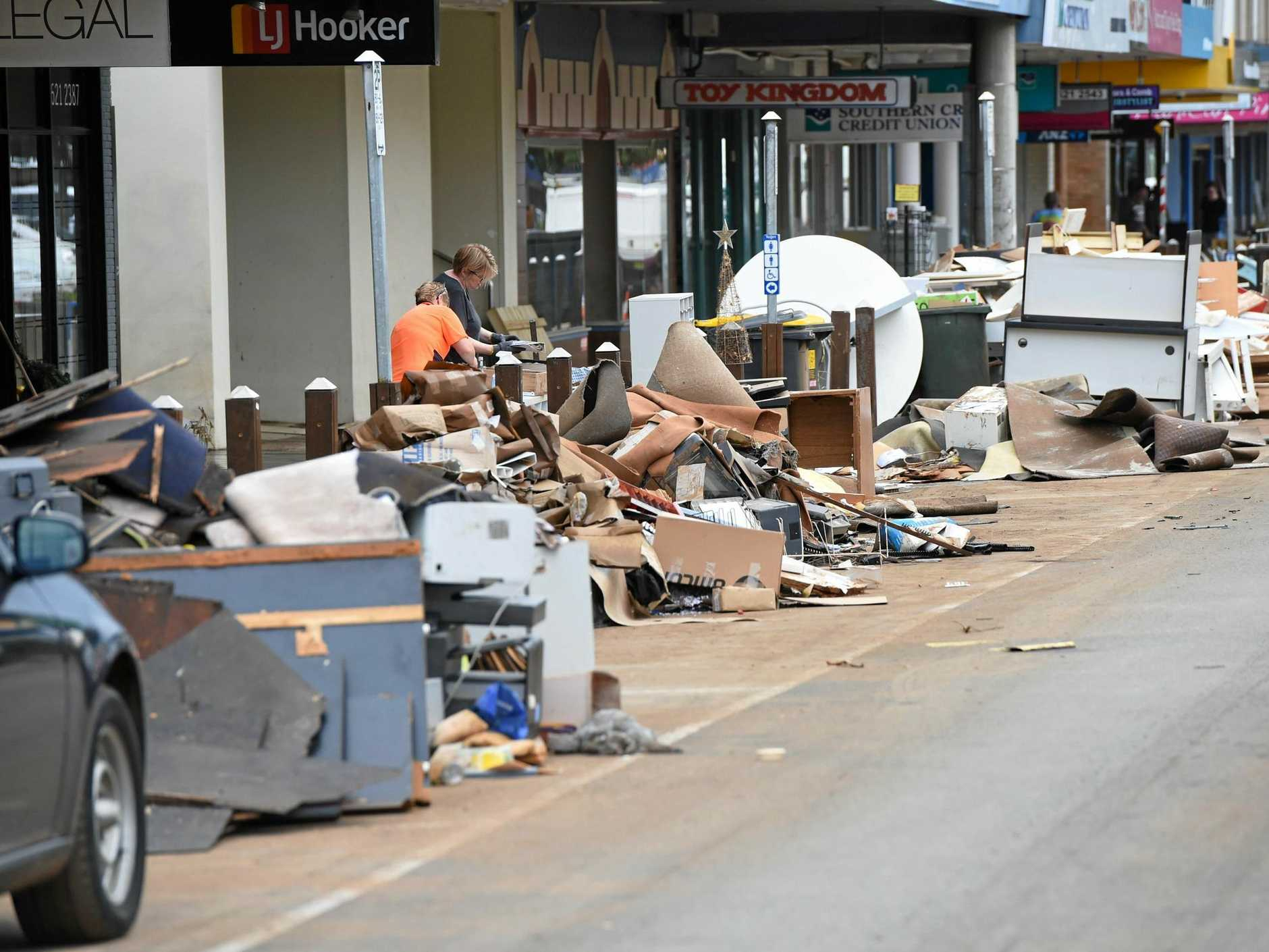 One letter writer says not enough has been done to help businesses in the Lismore CBD after the flood.