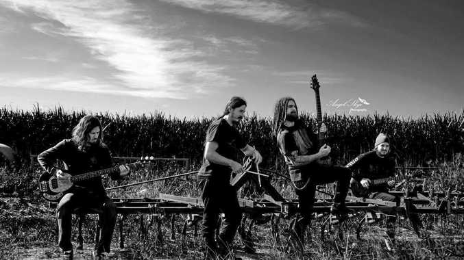 Kold Kreature will play Metal United Down Under at the New Tatts Hotel in Lismore. Photo Angel Skye Photography