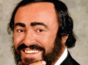 Opera Star Luciano Pavarotti poses for a portrait session in 1998.