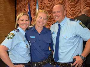 Police honoured after a 'challenging year'