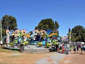 Mechanical fault forces closure of Show carnival ride