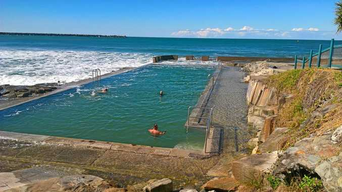 SWIM WITH A VIEW: Yamba's Ocean pool has reopened for your enjoyment.