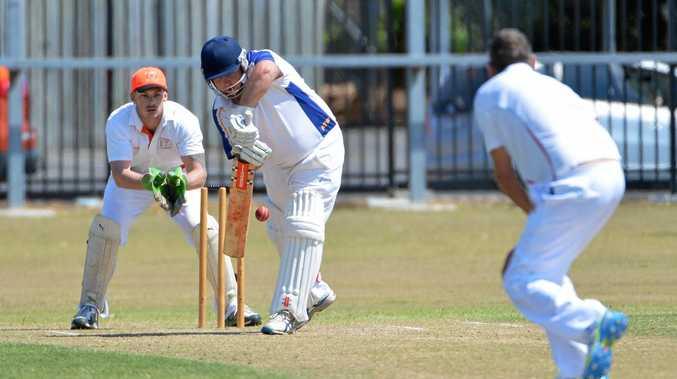 FORWARD DEFENCE: Luke Owen will captain The Waves this season in Bundaberg cricket.