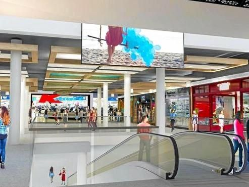 How the new level at Gowings' Coffs Central will look from next year.