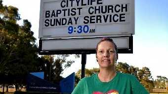 Sunshine Coast Pride Network co-chair Fiona Anderson.