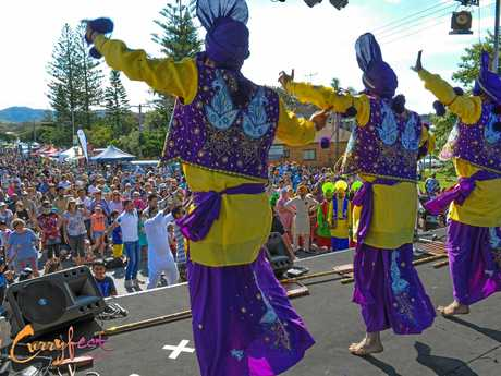 Plenty of entertainment is on offer at Curryfest