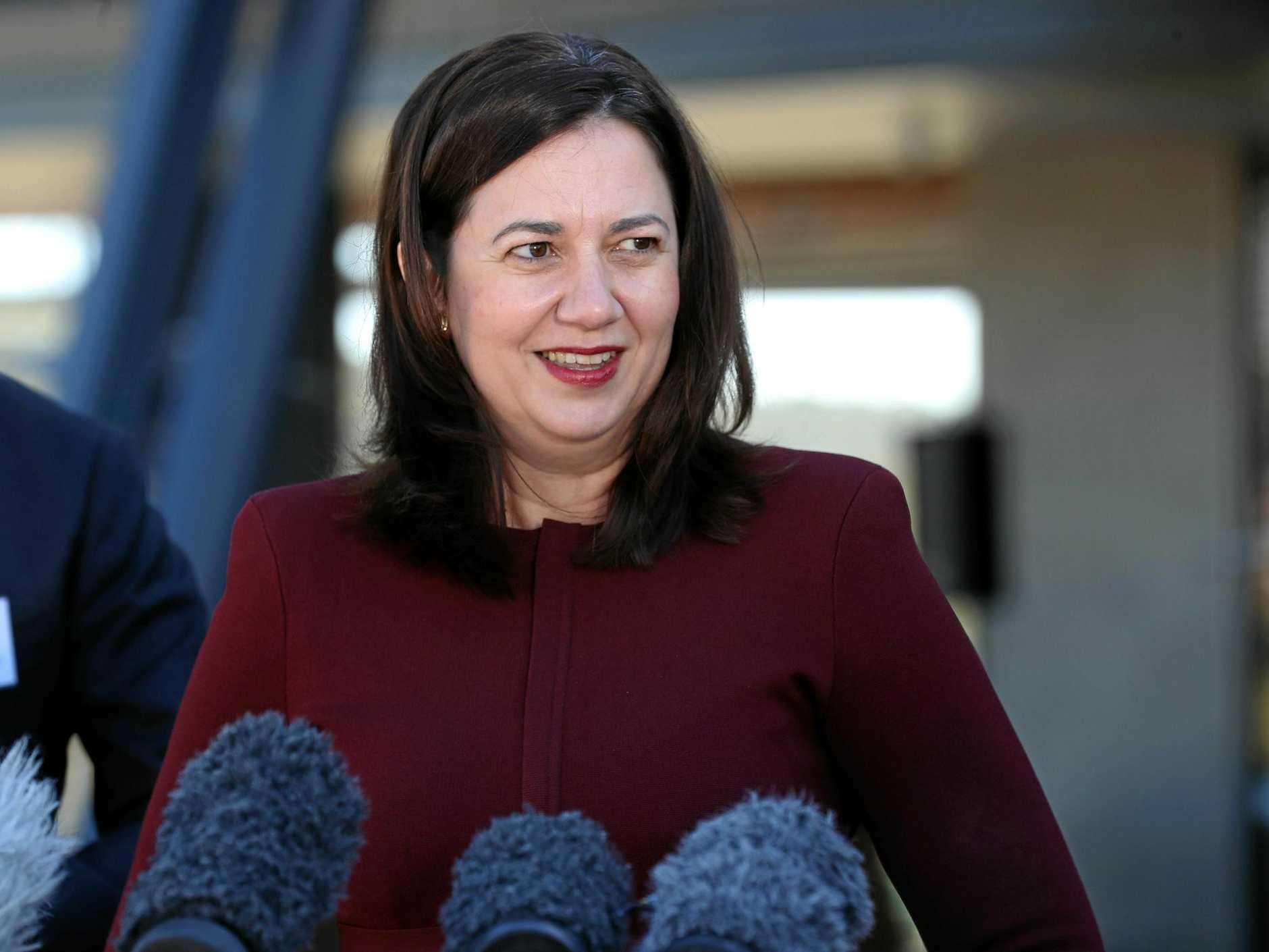 POLITICAL LUNCH: Premier Annastacia Palaszczuk will visit Rockhampton for a business lunch.