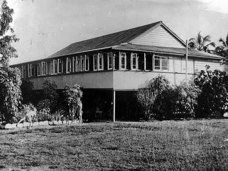 Stratford House at Emu Park where BUSHkids would stay for their seaside visits.