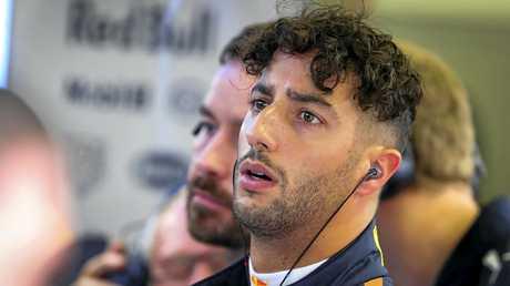 Australian Formula 1 driver Daniel Ricciardo of Red Bull.