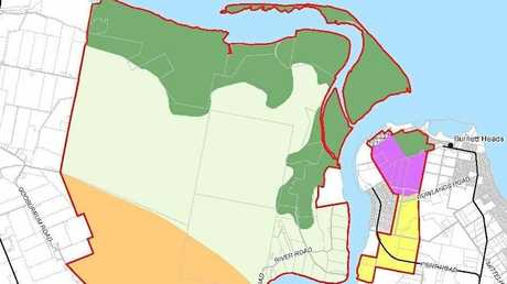 The Bundaberg SDA map.