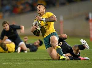 Wallabies tame Pumas to break Rugby Championship duck
