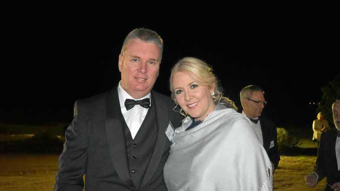 Peter Ellwood and Lesley Fraser.