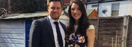 Australian Lucy Steadman and her boyfriend Fabian.