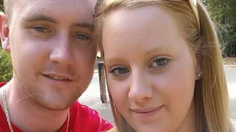 The torture ordeal which involved burning the girl and forcing her to eat dog food and drink bleach took place at the home of Patrick Breen and Stacey Gaffney (above). Picture: Facebook.