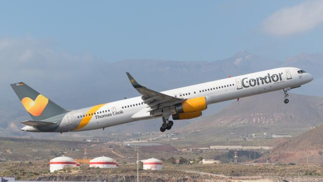 German airline Condor has been forced to warn randy staff. Picture: iStock.Source:Supplied