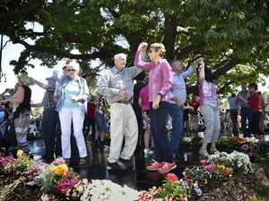Dancing in Laurel Bank park
